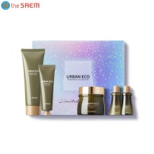 THE SAEM Urban Eco Harakeke Root Cream Special Set 5items [2019 Limited Edition]