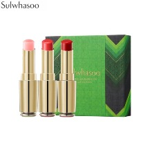 SULWHASOO Essential Lip Serum Stick Set 3items [2019 Colorful Holiday Collection]