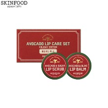 SKINFOOD Avocado Lip Care Set 2items [Holiday Edition]