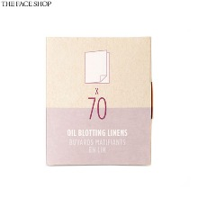 THE FACE SHOP Fmgt Daily Beauty Tools Oil Blotting Linens 70ea