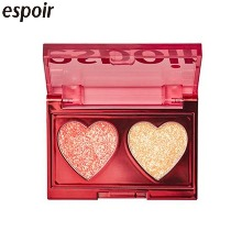 ESPOIR Glitter Bomb Palette 1.2g*2colors [2019 Holiday Colletction Love Bomb]