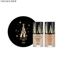 THE FACE SHOP Fmgt Holiday Ink Lasting Cushion Special Set 3items [2019 Holiday Edition Twinkle Party]