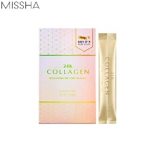 MISSHA 24K Collagen Gold Overnight Firming Mask 4ml*20ea [Online Excl.]