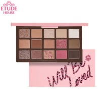 ETUDE HOUSE Play Color Eye Palette #Will Be Loved Leopink 1g*15colors