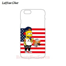 RAFFINE CHAT Simpson Stars & Stripes White Hard Phonecase,RAFFINE CHAT