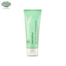 INNISFREE Green Barley Overnight Peeling Mask 100ml ,INNISFREE