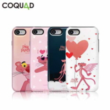 COQUAD 7Kinds Pink Panther Slim Phone Case,COQUAD