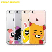 KAKAO FRIENDS 6Kinds Flower Bud Clear Jelly Phone Case,KAKAO FRIENDS