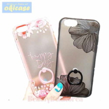 OKICASE 2 Items Flower Ring Phone Case,OKICASE