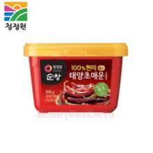 CHUNGJUNGWON Sunchang Spicy Red Pepper Paste Made of Rice 500g (Hot),CHUNG JUNG ONE