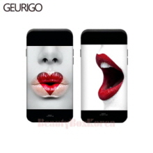GEURIGO 2Item Lips Bumper Card Phone Case,GEURIGO