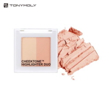 TONYMOLY CheekTone Highlighter Duo 4.5g,TONYMOLY