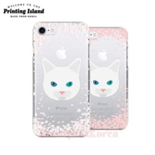 PRINTING ISLAND 8Kinds Cherry Blossom With Cat Phone Case,PRINTING ISLAND