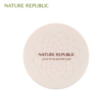 NATURE REPUBLIC Pure Shine Powder Pact 12g,NATURE REPUBLIC
