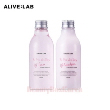 ALIVE-LAB The True Love Story Of Set(Toner 200ml+Emulsion 200ml),Own label brand
