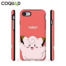 COQUAD 5Kinds Pokemon Cutie Armour Card Phone Case,COQUAD
