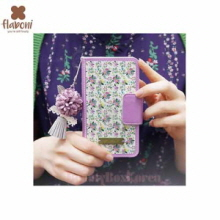 FLABONI Meomory of The Old Nosegay Marttel Light Violet Wallet Phonecase,FLABONI
