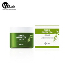 W.LAB Snail Green Tea Cream 75g,W.LAB
