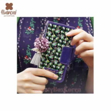 FLABONI Meomory of The Old Nosegay Marttel Dark Violet Wallet Phonecase,FLABONI