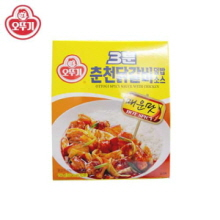 OTTOGI 3min Spicy Sauce With Chicken 150g,OTTOGI