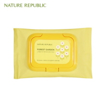 NATURE REPUBLIC Forest Garden Lip&Eye Remover Pad 40p,NATURE REPUBLIC