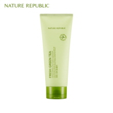 NATURE REPUBLIC Fresh Green Tea Foam Cleanser 150ml,NATURE REPUBLIC