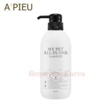 A'PIEU My Pet All In One Shampoo 480ml,A'Pieu