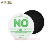 A'PIEU No Dirty Brush Cleansing Sponge 1ea,A'Pieu