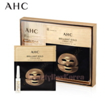AHC Brilliant Gold 1.5ml*5ea+Hydrogel Mask 30g*5ea,A.H.C