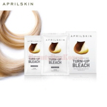 APRIL SKIN Turn-Up Bleach 30ml/10g 4ea,APRIL GREEN