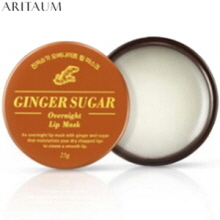 ARITAUM Ginger Sugar Overnight Lip Mask 25g,ARITAUM