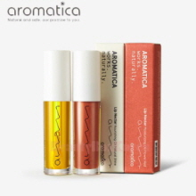 AROMATICA Lip Nectar Moisturizing Oil Set 5ml*2,AROMATICA