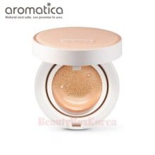 AROMATICA Natural Tinted Sun Cover Cushion SPF30 PA++ 15g*2ea,AROMATICA