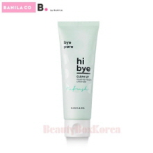 B BY BANILA Hi Bye Clean Up Mud To Foam Cleanser 120ml,B.by Banila