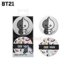 BT21 Make-Up Puff Kit 2ea,BT21