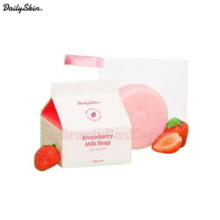 DAILY SKIN Strawberry Milk Soap 100g,DAILY SKIN