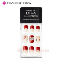 DASHING DIVA MDR 114 Make Me Smile 1 set,DASHING DIVA