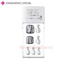 DASHING DIVA Magic Press Pedicure Prism Piece 1set,DASHING DIVA