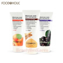FOODAHOLIC Moisture Soft Peeling Gel 180ml,FOOD A HOLIC