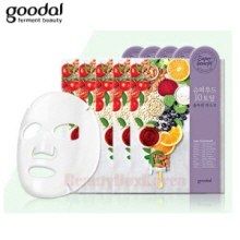 GOODAL Super Food 10 Total Solution Mask 28ml*5ea,GOODAL