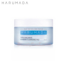 HARUMADA Triple Balance Morning Cleansing Pad (40ea),HARUMADA