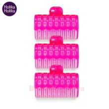 HOLIKAHOLIKA Magic Tool Hair Rollers With Clip 3ea,HOLIKAHOLIKA