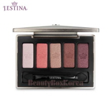 J.ESTINA Jewel Define Eye Palette 1g*5,J.ESTINA