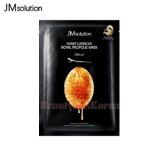 JM SOLUTION Honey Luminous Royal Propolis Mask 30ml,JM SOLUTION