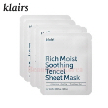 KLAIRS Rich Moist Soothing Tencel Sheet Mask 25ml*5ea,KLAIRS