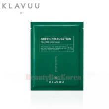 KLAVUU Green Pearlsation Teatree Care Mask 22g,KLAVUU