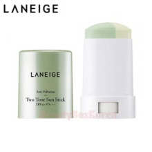 LANEIGE Anti-Pollution Two-Tone Sun Stick SPF50+ PA++++ 18g,LANEIGE