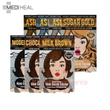 MEDIHEAL Secret Change Hair Color Cream 50g+50g,MEDIHEAL