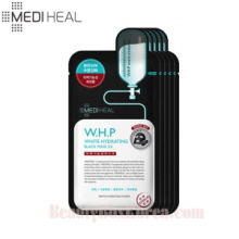 MEDIHEAL W.H.P. White Hydrating Charcoal Mineral Mask 25ml*5ea,MEDIHEAL