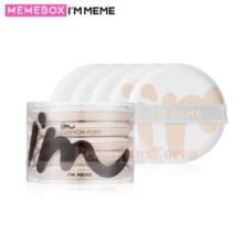 MEMEBOX I'M MEME I'm Cushion Puff 5ea,MEME BOX